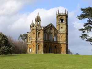The Gothic Temple at Stowe House, Buckinghamshire, photographed by Amanda Lewis.