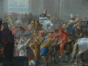 17th Century Roman Carnival celebration.